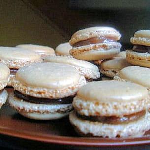 macarons aux marrons