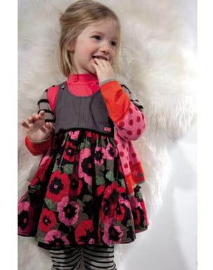 robe imprimée absorba