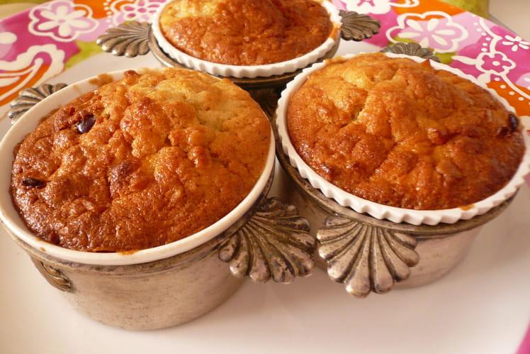 Muffins au sirop d'érable, pommes et noix