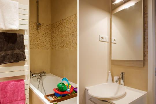Salle de bains enfant