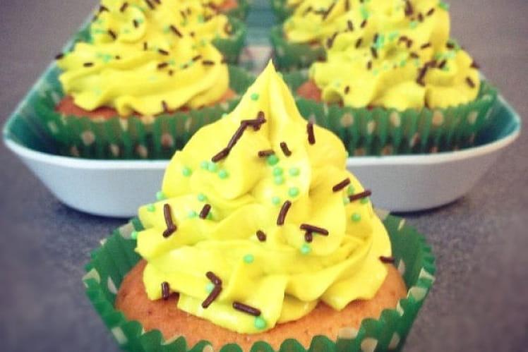 Cupcakes pistache-Nutella