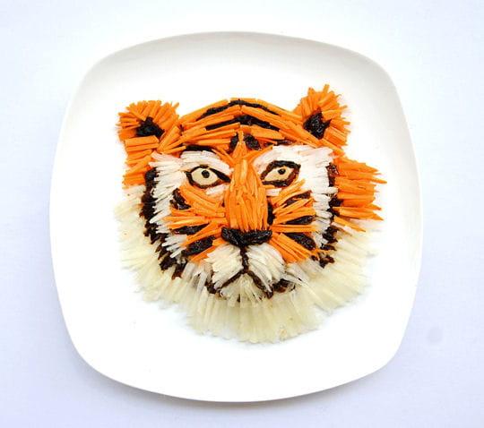 Tigre en riz