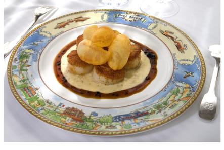 Coquilles Saint-Jacques au beurre blanc