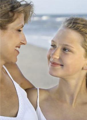 il existe une tendance familiale à avoir de l'acné.