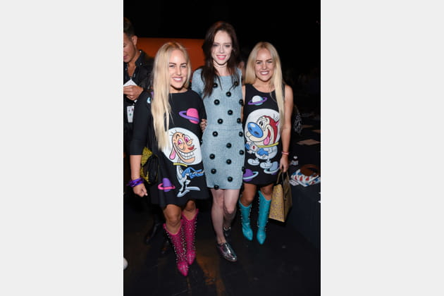Cailli Beckerman, Coco Rocha et Sam Beckerman