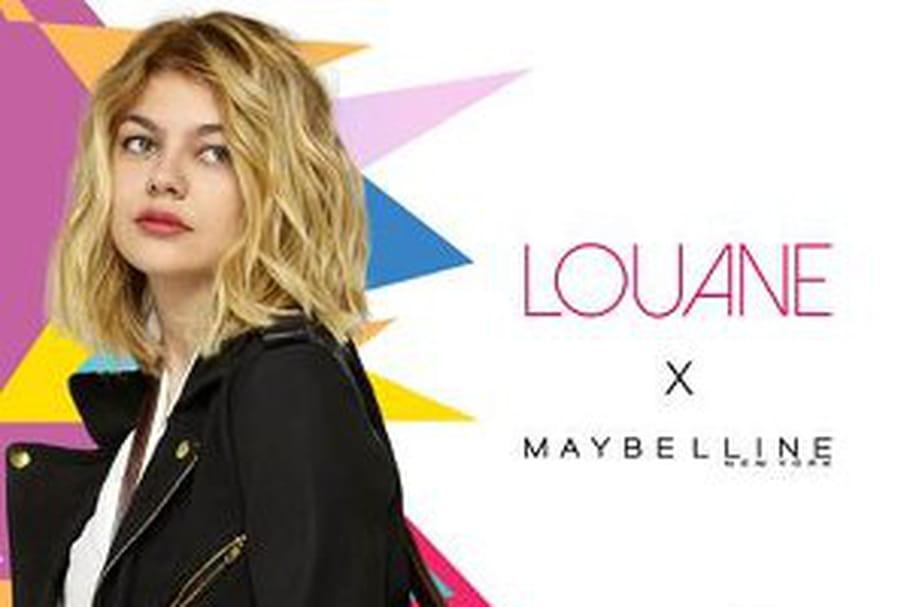 Louane, nouvelle égérie Maybelline