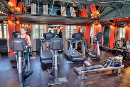 Une salle de fitness high-tech