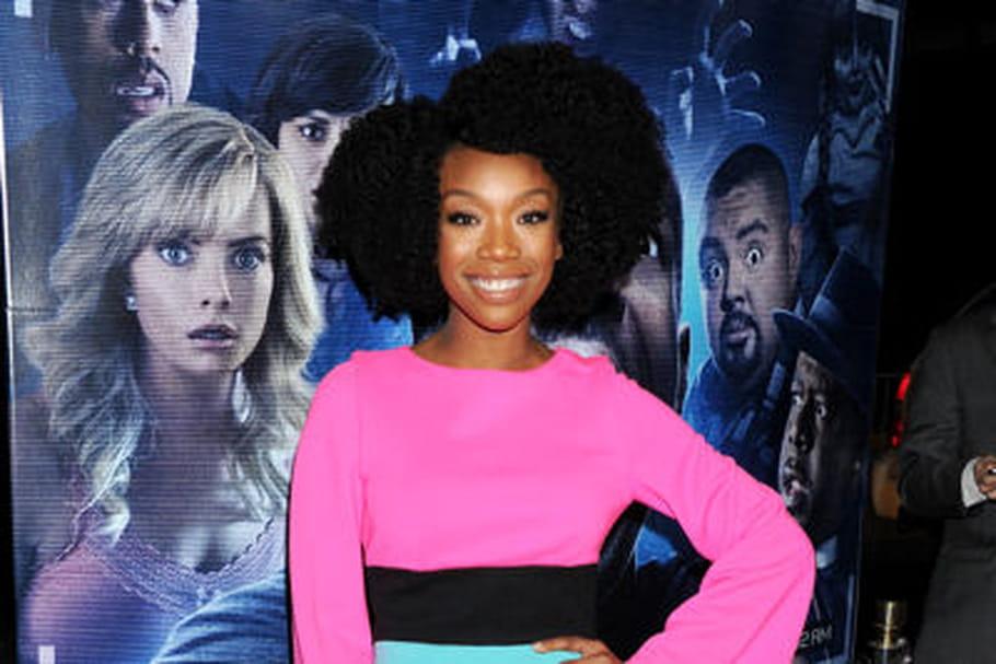 Le look people du jour: Brandy, colorée