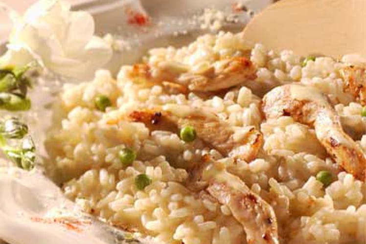 Aiguillettes de poulet au riz