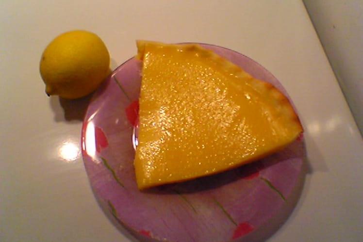 Tarte au citron rapide