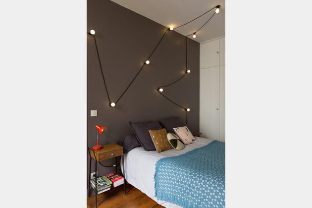 t te de lit ampoul e. Black Bedroom Furniture Sets. Home Design Ideas