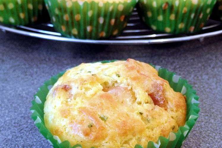 Muffins boursin poulet