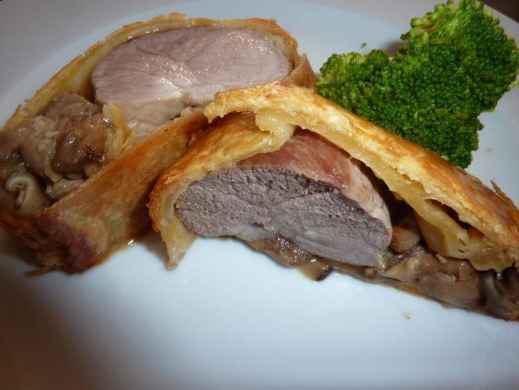 Recette de filet mignon au champignon en croute la - Cuisiner un filet mignon de porc au four ...