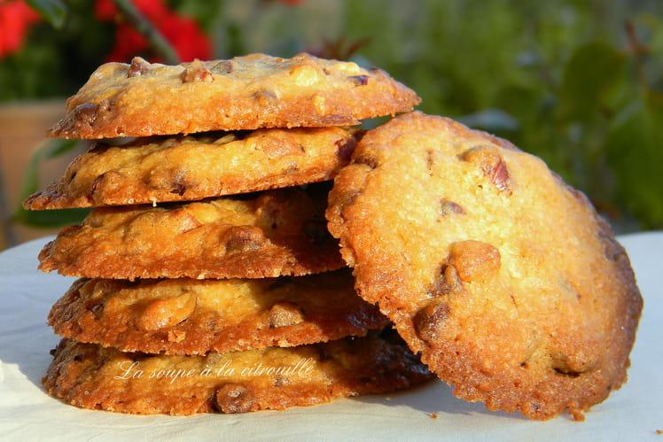 Cookies noisettes et chocolat