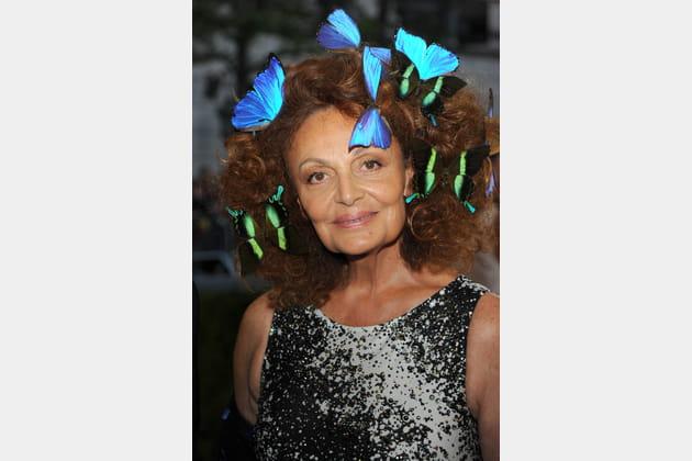 Les papillons de Diane Von Furstenberg