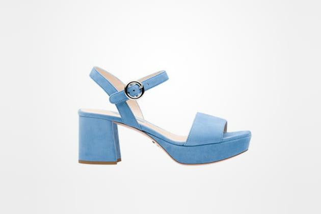 Sandales à plateforme de Prada