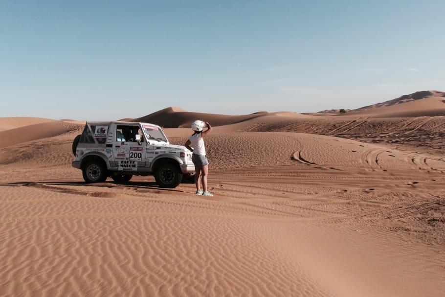 Trophée Roses des Sables: des dunes et des airbags