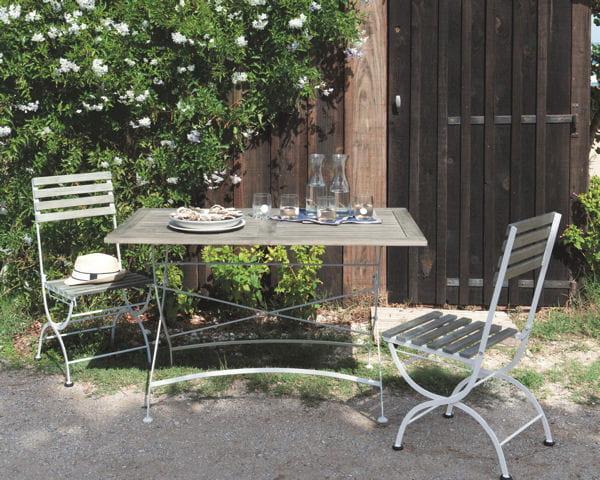 Table et chaises garden party de maisons du monde - Maison du monde en ligne ...
