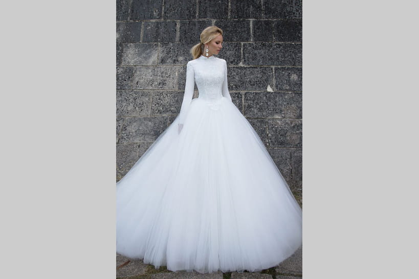5c7a915ad62f7 Les marques de robes de mariée au style princesse