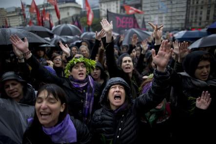 Chants de rage en Argentine