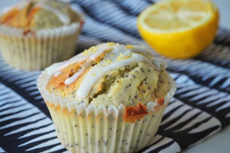 Muffins au citron et graines de pavot