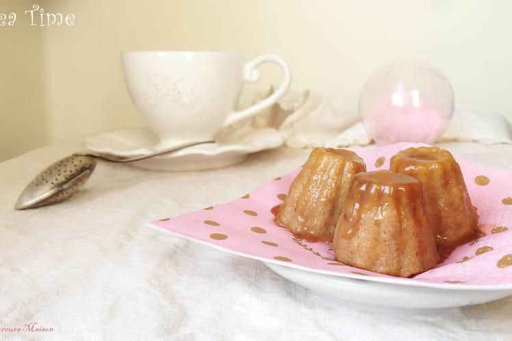 Pudding noix fraîches, citron confit et caramel