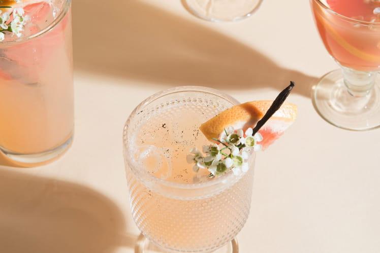 Cocktail zeste exotique
