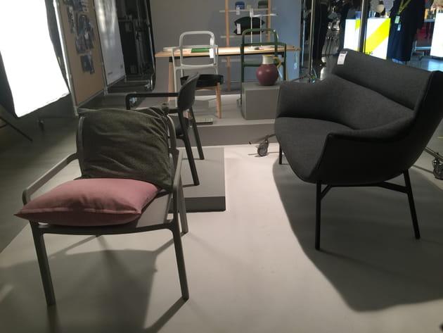 Canapé et fauteuil Ikea X Hay