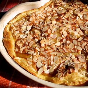 tarte aux pommes à la normande