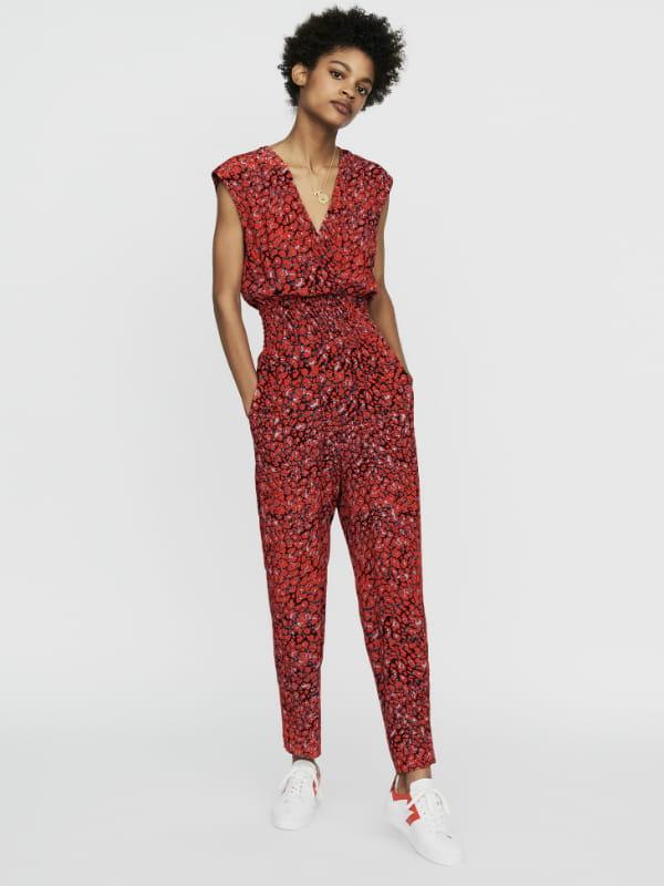 maje combinaison pantalon