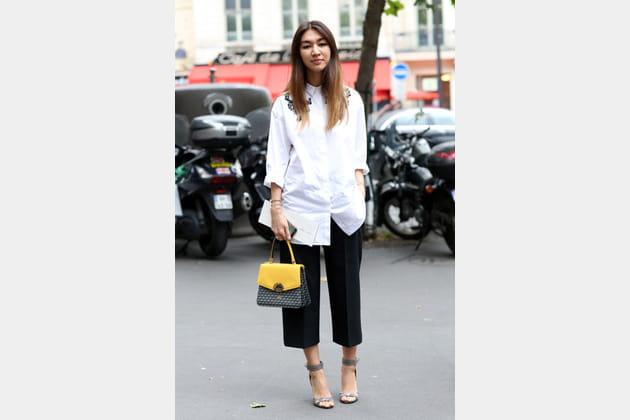 Street looks fashion week haute couture : garçonne