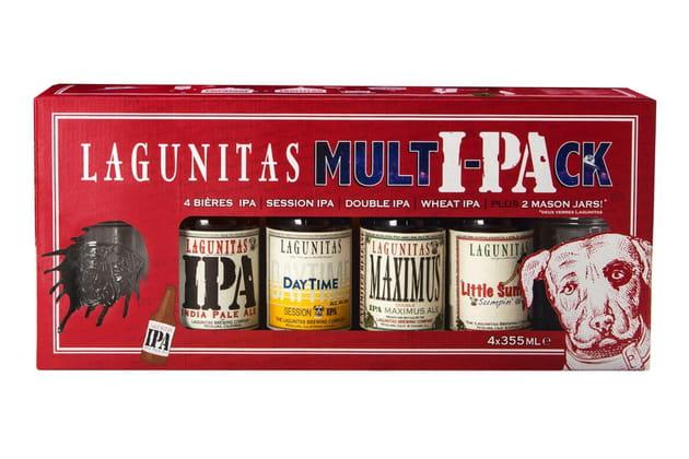 """La box """"Multi-pack"""" Lagunitas"""