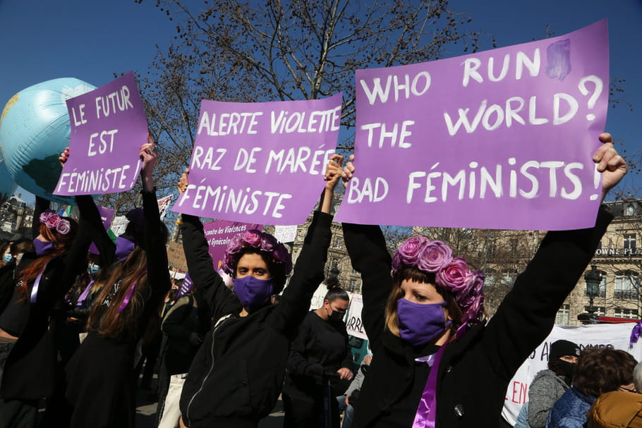Journée des Droits des Femmesdu 8mars 2021: grèves féministes
