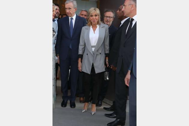 Brigitte Macron le 3juillet 2017