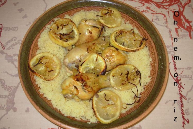 Pilons de poulet au citron