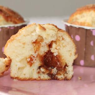 muffins coeur caramel au beurre salé