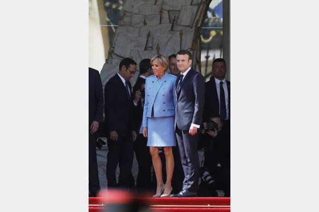 Brigitte Macron le 14mai 2017