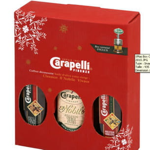 xmas box de carapelli