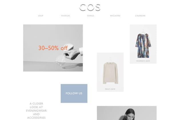Le e-shop de COS