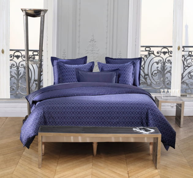 parrure de lit azzaro chez carrefour. Black Bedroom Furniture Sets. Home Design Ideas