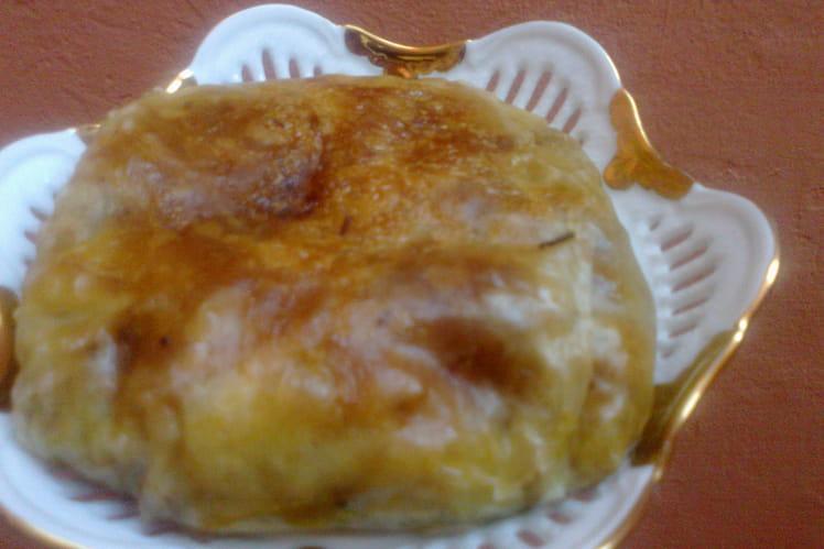 Pastilla minute poulet-champignons