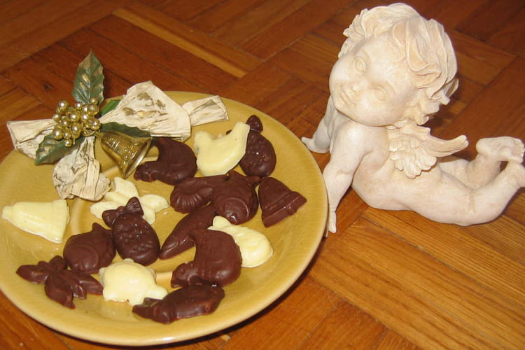 Petites fritures au chocolat de Pâques