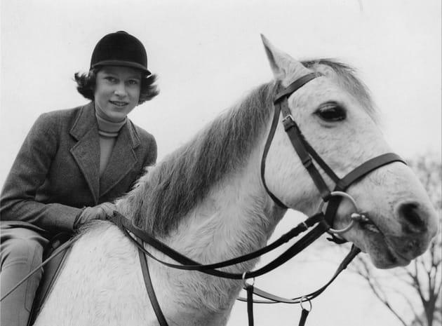 Le cheval, c'est sa grande passion