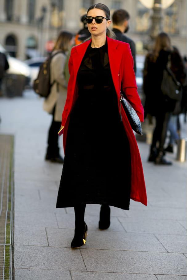 Street style à Paris : la longueur chic