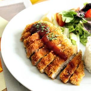 poulet katsu- sauce tonkatsu