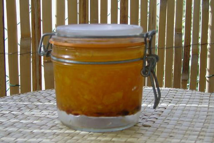 Confiture d'oranges et citrons