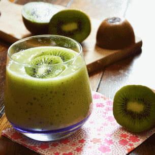 smoothie kiwi-bananes