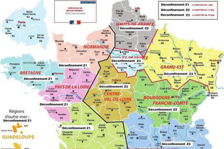 Deconfinement Par Region La Carte Est Un Fake