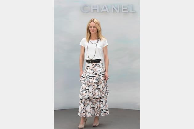 Vanessa Paradis au show Chanel