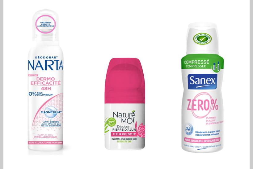 Les meilleurs déodorants pour rester fraîche